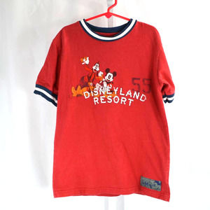 Disneyland Resort Boy's Graphic Tee Med Kids